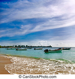 Trinidad and Tobago - Pigeon point beach