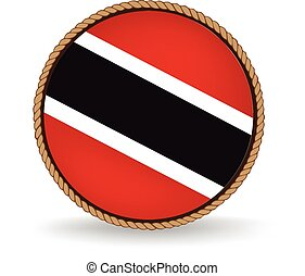 Trinidad And Tobago Seal - Flag seal of Trinidad and Tobago.