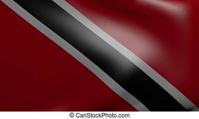 trinidad and tobago strong wind flag