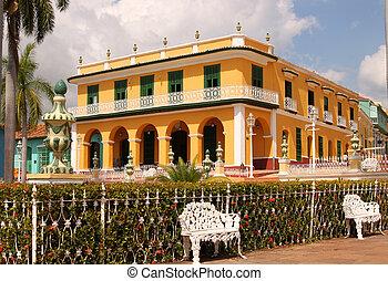 trinidad, arquitectura, cuba