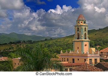 trinidad, cityscape, cuba