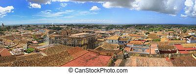 Trinidad cityscape, cuba - Panoramic view of trinidad...