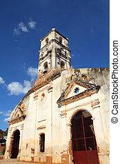 Trinidad, Cuba - famous ruined church of Saint Anna (Iglesia...