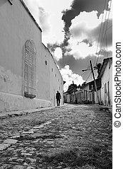 trinidad, rue, cuba