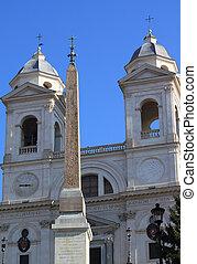 Trinita dei Monti, Rome - Rome - famous Trinita dei Monti,...