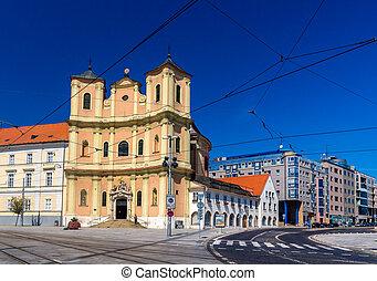 Trinitarian Church in Bratislava Old Town - Slovakia