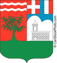 Triniti city coa - Various vector flags, state symbols,...