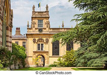 Trinity College. Oxford, England