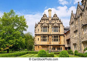 Trinity College. Oxford, UK
