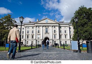 Trinity College in Dublin, Ireland