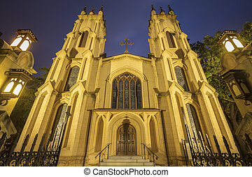 Trinity Episcopal Cathedral in Columbia