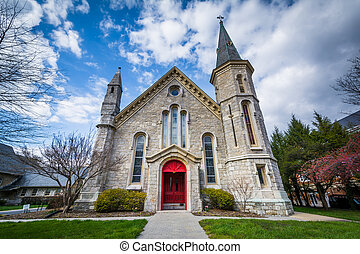 Trinity Episcopal Church, in Baltimore, Maryland.