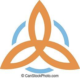 Trinity is a religious symbol