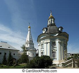Trinity Sergius Lavra in Sergiev Posad. Russian Federation. UNESCO World Heritage Site.