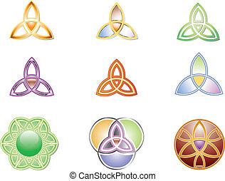 Trinity Vector Graphic - Graphic Trinity Design Variations,...