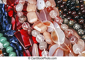 Trinkets 28 - Different colored trinkets displayed in the ...