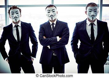 trio, anonyme