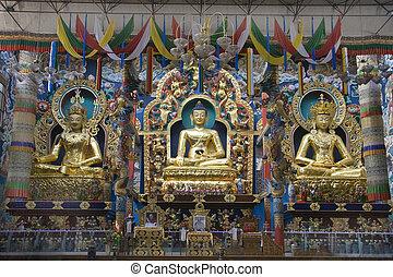 Trio at Golden Temple