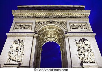 triomphe, パリ, de, 弧