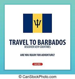trip., barbados., voyage, découvrir, countries., explorer, aventure, nouveau