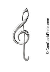 triplo, música, clef