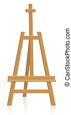 Tripod Easel Painting Equipment - Tripod easel - painting or...