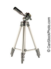 tripod on isolated