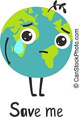 triste, terra, pianeta