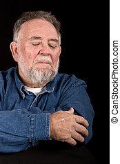 triste, vieil homme