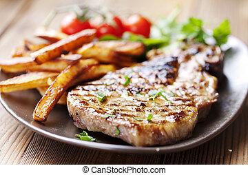 tritare, carne di maiale