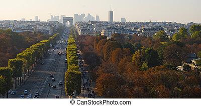 triumfalny obłąk, paryż