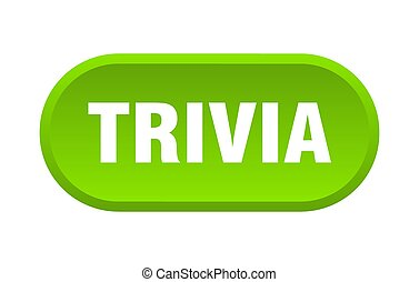 trivia button. rounded sign on white background - trivia ...
