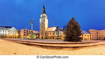 Trnava - Trojicne namestie, Slovakia