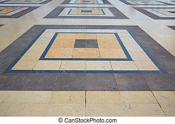 Trocadero esplanade Paris marble soil - Trocadero esplanade ...