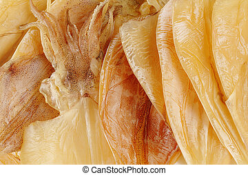 trocken, tintenfisch