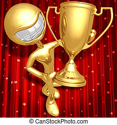 troféu, cerimônia