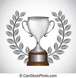 troféu, prata