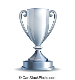 trofeo de plata, taza