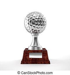 trofeo, golf