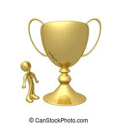 trofeo, inmenso