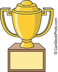 trofeo, taza