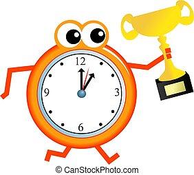 trofeo, tiempo