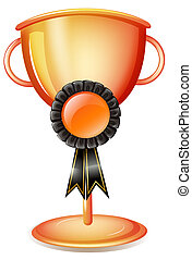 trofeo, worldcup, negro, cinta