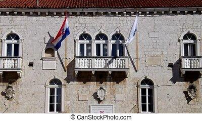 Trogir flags