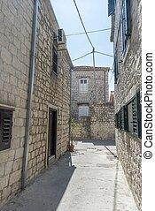 Trogir historic town in Croatia