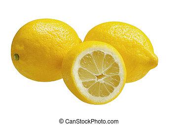 trois, citrons