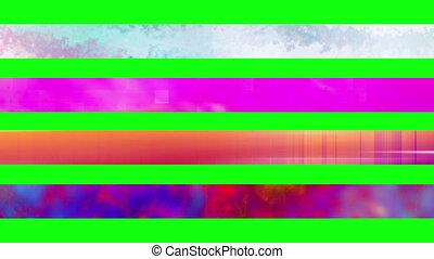 troisième, 16n, inférieur, écran, vert