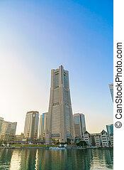 troisième, japan., plus grand, ville, yokohama