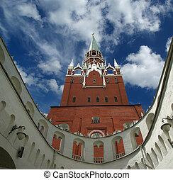 troitskaya, kutafia, タワー, ロシア, タワー, (bridgehead), kremlin, モスクワ