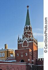 Troitskaya Tower, Moscow